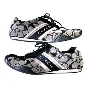 Coach Lace Up Sneakers Size 7